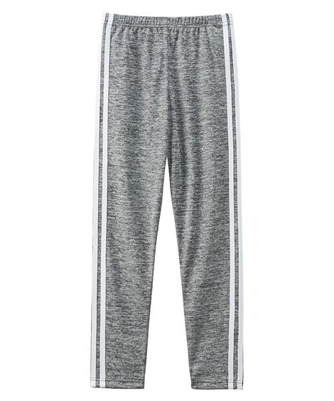 吸汗速乾サイドラインレギンス(女の子 子供服。ジュニア服) レギンス, Kids' Leggings