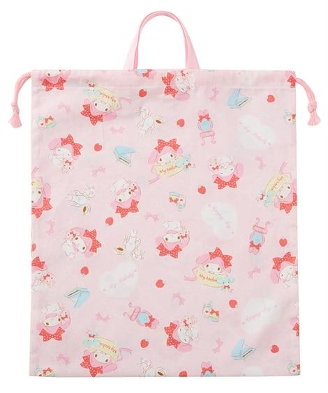 【マイメロディ】【日本製】サイズが選べる巾着 入園入学準備 女の子 ポーチ・巾着・移動ポケット