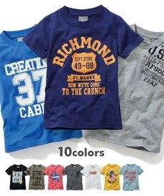 6e46ce53c10aa 10柄から選べる!綿混アメカジプリント半袖Tシャツ(4柄追加