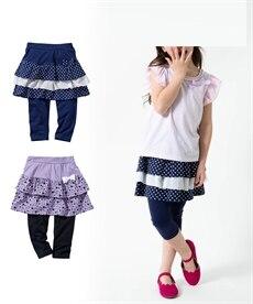 4cd4705110d93 身長120cm 子供服 スカッツ(スカート付パンツ) 通販 ニッセン  - 子供服