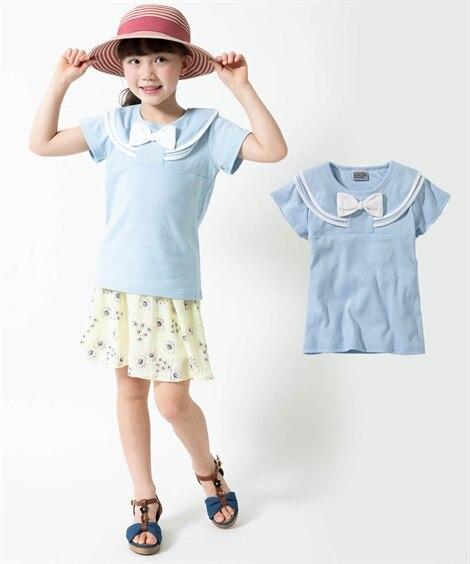 選べる3タイプ♪半袖トップス(女の子 子供服。ジュニア服) ...