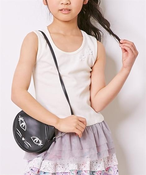 チュール付タンクトップ(女の子 子供服) タンクトップ・キャ...