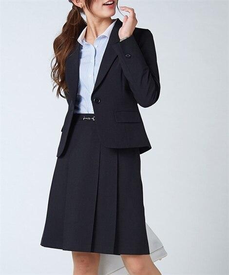ラージサイズ登場!美人度UP洗えるスカートスーツ (大きいサ...