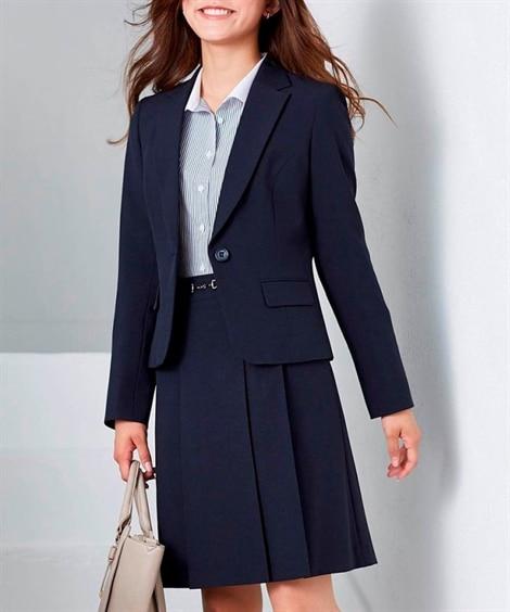ラージサイズ登場!美人度UP洗えるスカートスーツ 【大きいサ...