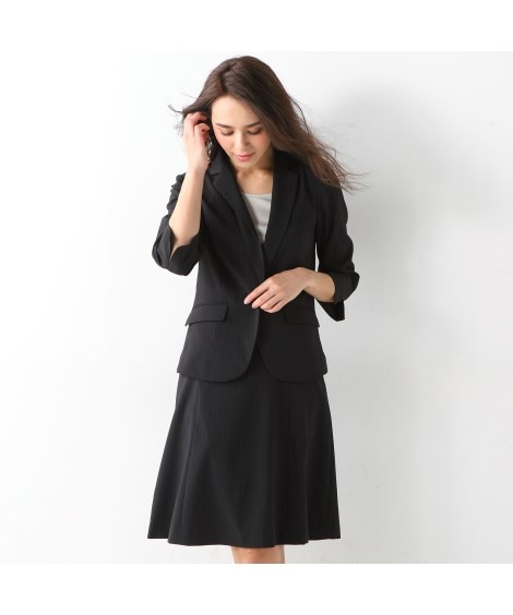 うすカル ストレッチスカートスーツ 【レディーススーツ】通勤...
