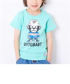 <ニッセン> スマイリーフェイス 綿100%重ね着風長袖Tシャツ(男の子。女の子 子供服。ジュニア服) Tシャツ・カットソー 28