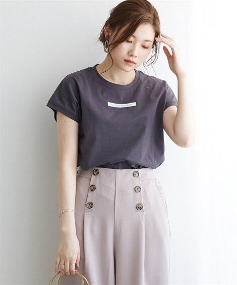 <ニッセン> 白黒ネコ ゆるTシャツ (Tシャツ・カットソー)(レディース)T-shirts 3
