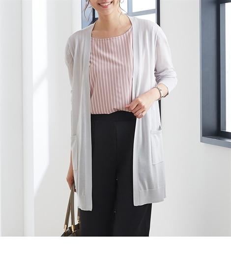 <ニッセン> 白黒ネコ ゆるTシャツ (Tシャツ・カットソー)(レディース)T-shirts 8