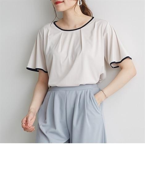 <ニッセン> 白黒ネコ ゆるTシャツ (Tシャツ・カットソー)(レディース)T-shirts 12