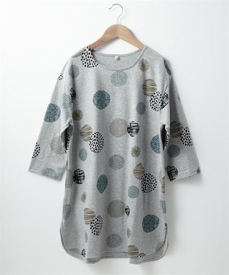 <ニッセン> 白黒ネコ ゆるTシャツ (Tシャツ・カットソー)(レディース)T-shirts 18