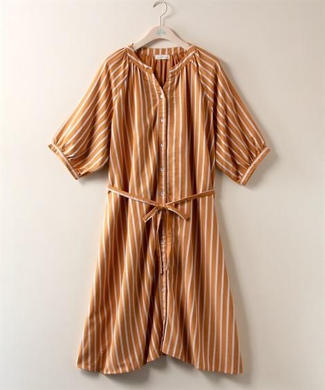【大きいサイズ】 ラグランガウンワンピース【Lily Merry】 ワンピース, plus size dress