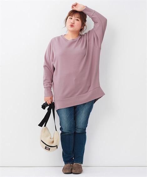 <ニッセン> 白黒ネコ ゆるTシャツ (Tシャツ・カットソー)(レディース)T-shirts 24