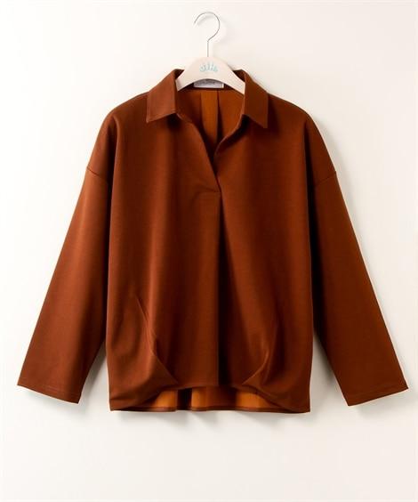 <ニッセン> 白黒ネコ ゆるTシャツ (Tシャツ・カットソー)(レディース)T-shirts 25
