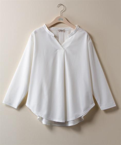 <ニッセン> 白黒ネコ ゆるTシャツ (Tシャツ・カットソー)(レディース)T-shirts 26