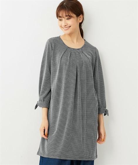 <ニッセン> 白黒ネコ ゆるTシャツ (Tシャツ・カットソー)(レディース)T-shirts 28