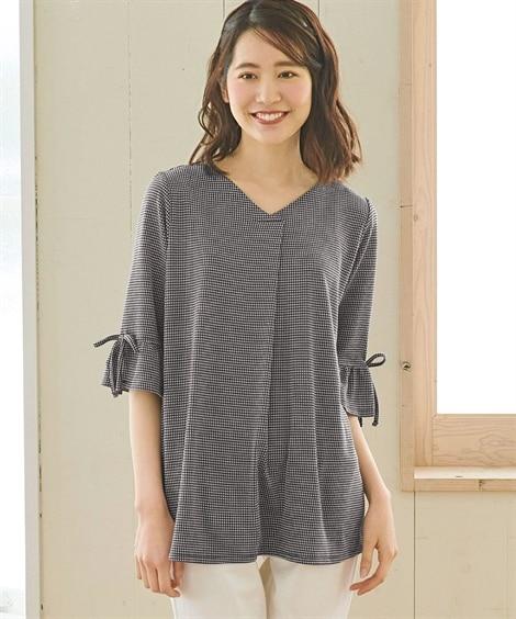 <ニッセン> 白黒ネコ ゆるTシャツ (Tシャツ・カットソー)(レディース)T-shirts 29