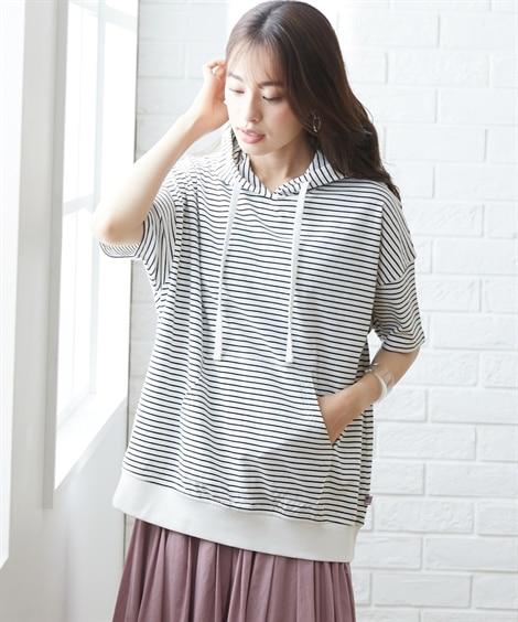 <ニッセン> ぽこぽこ編み半袖ニット (ニット・セーター)(レディース)Knitting Sweater 30