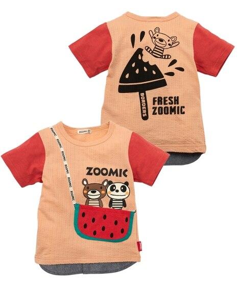 ZOOMIC(ズーミック)フルーツポシェット半袖Tシャツ(男の子 子供服) Tシャツ・カットソー