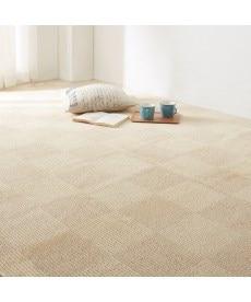 抗菌防臭ブロック柄折りたたみカーペット(日本製) カーペットの商品画像