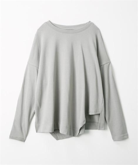 裾アシンメトリーTシャツ (Tシャツ・カットソー)(レディー...