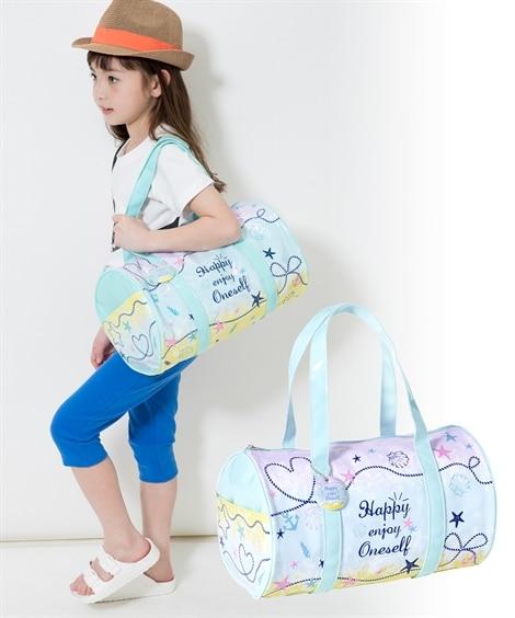 ロール型ビーチバック(子供 女の子 ジュニア) ビニールバッグ・ビーチバッグ, Bags