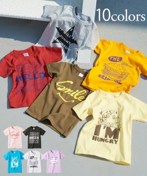 45967340c7518 夏のプリントTシャツ(男の子・女の子 子供服・ジュニア ...