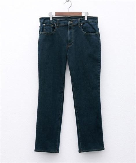 ストレッチ5ポケットジーンズ(股下75cm) ストレートジー...
