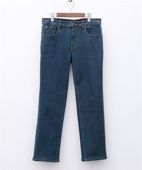 ストレッチ5ポケットジーンズ(股下80cm) ストレートジー...