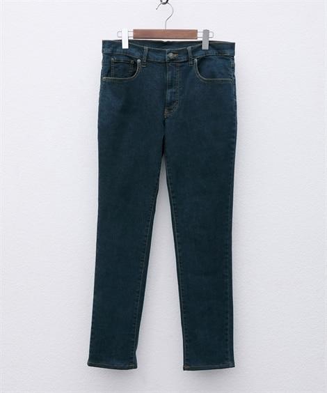 ストレッチ5ポケットスリムシルエットジーンズ(股下70cm)...