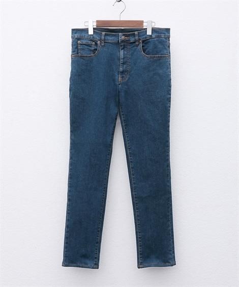 ストレッチ5ポケットスリムシルエットジーンズ(股下80cm) スキニージーンズ(デニム) Jeans