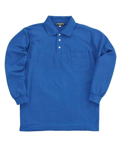 KURODARUMA 25400 鹿の子長袖ポロシャツ 作業服