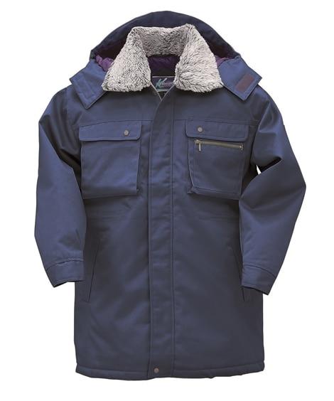 KURODARUMA 54380 裏キルティング。着脱式フードコート 作業服