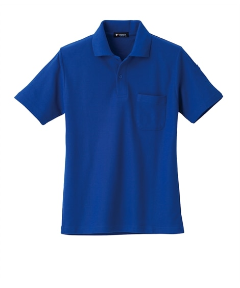 KURODARUMA 26098 袖ペン差し付き鹿の子半袖ポロシャツ 作業服