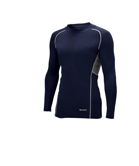 KURODARUMA 47073 接触冷感長袖コンプレッションシャツ 作業服
