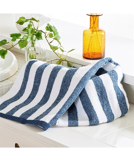 ミックスストライプ バスタオル バスタオル, Towels,...