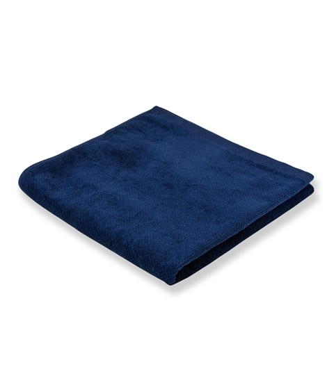 ベロアのような高級感ある手触りのバスタオル バスタオル