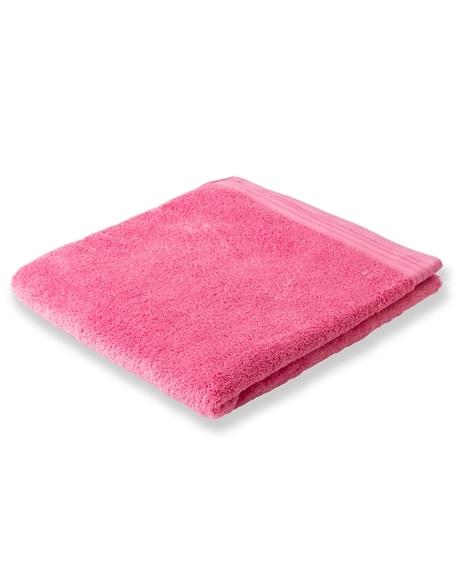 つややかでふんわりボリュームがある無撚糸バスタオル バスタオル, Towels(ニッセン、nissen)