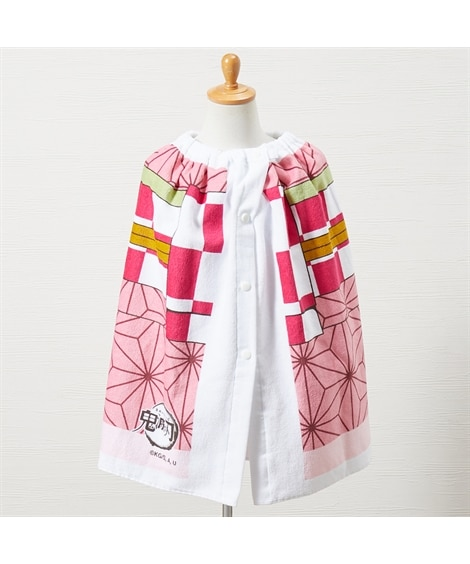 鬼滅の刃「竈門禰豆子」 60cm丈ラップタオル タオル, Towels(ニッセン、nissen)