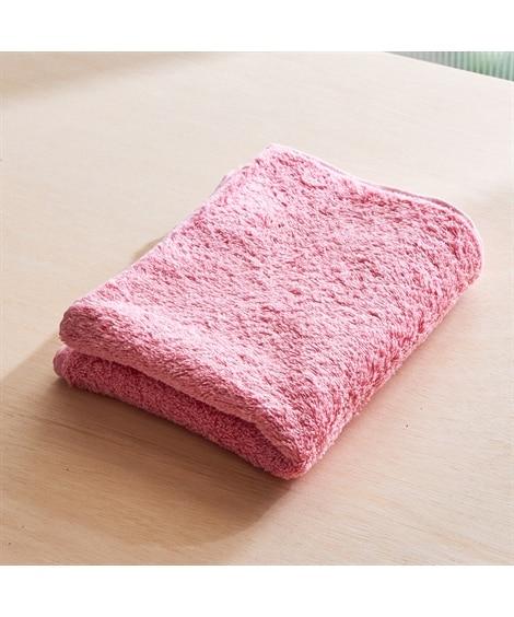 ふんわりカラーがかわいいアレル物質を低減するフェイスタオル フェイスタオル, Towels(ニッセン、nissen)
