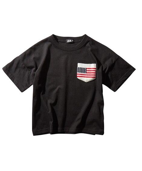 ニットポケット付ビッグシルエットTシャツ (Tシャツ・カット...