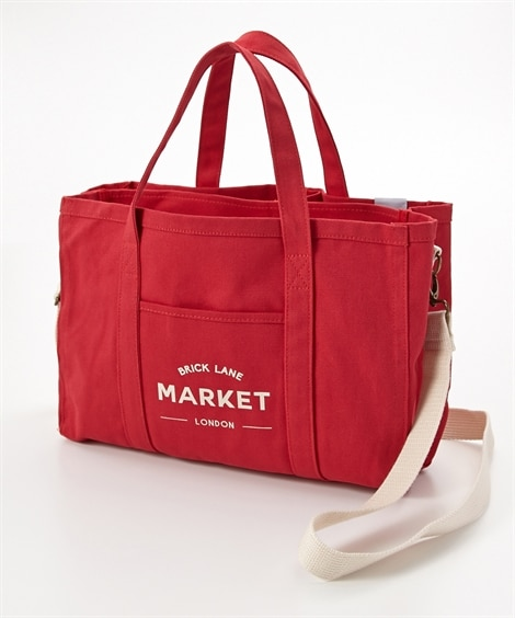 Jouet(ジョエット) マーケット帆布2WAYトートバッグ(Mサイズ)(A4対応) トートバッグ・手提げバッグ, Bags