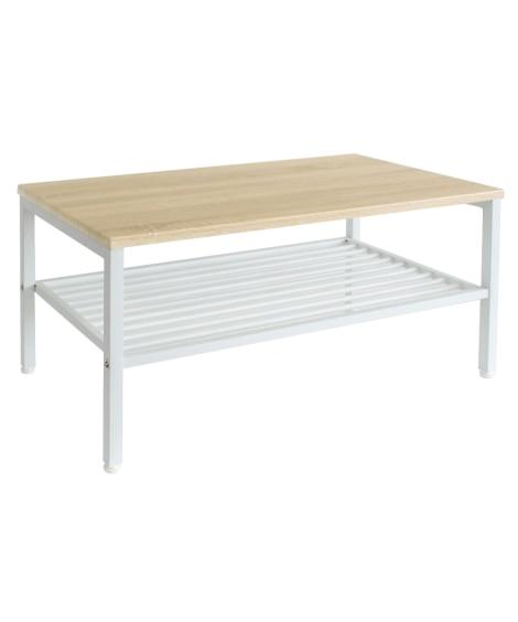 木天板棚付センターテーブル ローテーブル・リビングテーブル