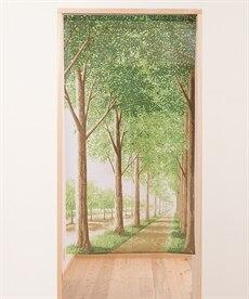 新緑の散歩道のれん のれん・カフェカーテンの商品画像
