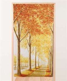 秋の散歩道のれん のれん・カフェカーテンの商品画像