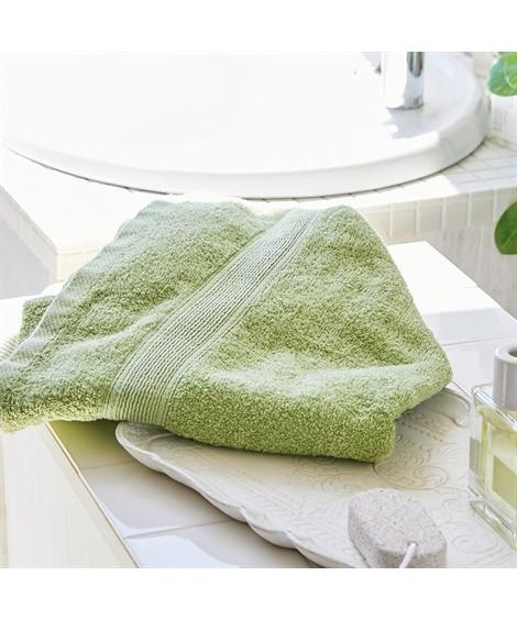 光沢のあるつやが美しいバスタオル バスタオル, Towels...