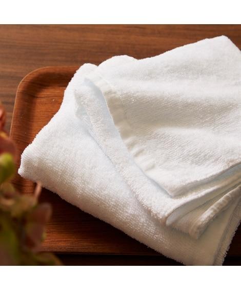 【お買い得】白のフェイスタオル10枚組 フェイスタオル, Towels(ニッセン、nissen)