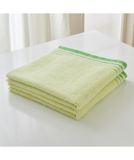 優しい手ざわり シンプルで使いやすいバスタオル同色2枚セット バスタオル, Towels(ニッセン、nissen)