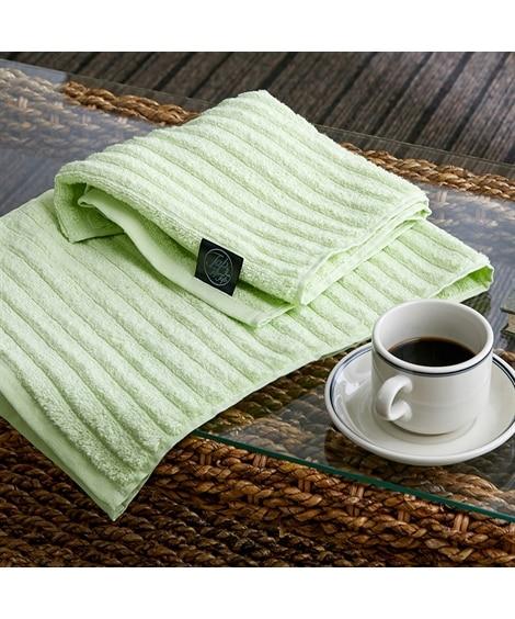 ふわふわ手ざわりのウェーブカラーフェイスタオル 同色2枚セット フェイスタオル, Towels(ニッセン、nissen)