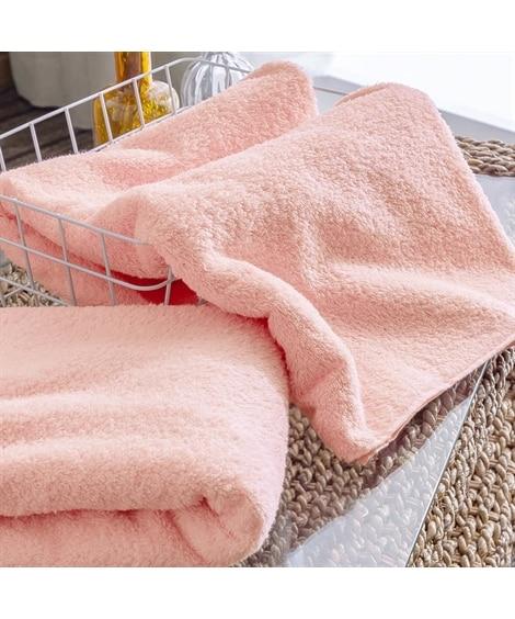 端までふわふわが続くバスタオル 同色2枚セット バスタオル, Towels(ニッセン、nissen)