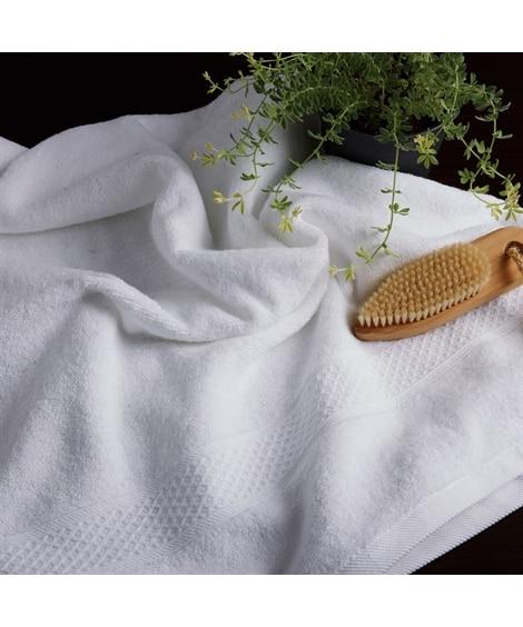 光沢のあるなめらかな新疆綿厚手バスタオル バスタオル, Towels(ニッセン、nissen)